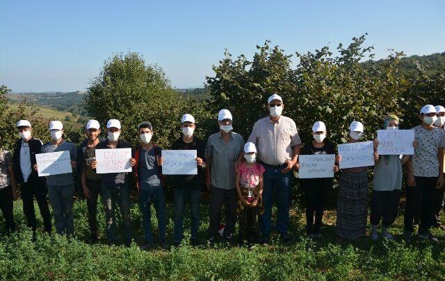 Mevsimlik işçilere, Hürriyet'ten şapka ve maske