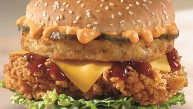 """KFC'den """"Aşırı Burger"""""""