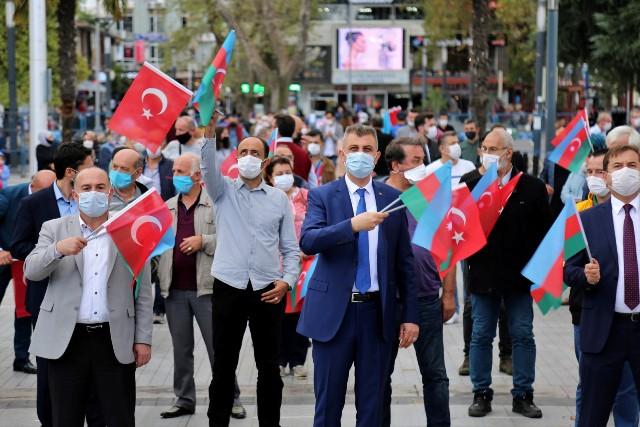 GÖLCÜK'TEN KARDEŞ DEVLET AZERBAYCAN'A BÜYÜK DESTEK