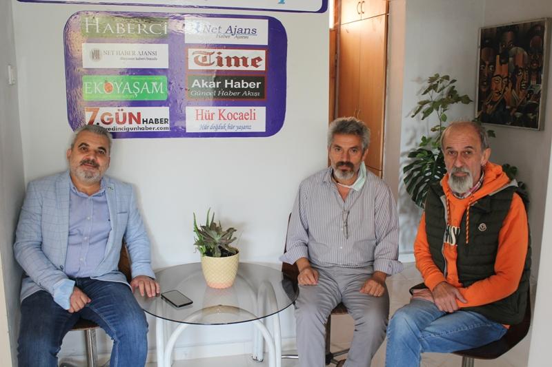 Şahin'den Net Medya'ya ziyaret