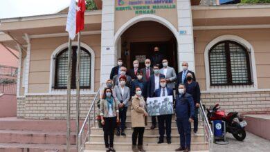 CHP Kocaeli'den İzmit Muhtarlar Derneği'ne ziyaret