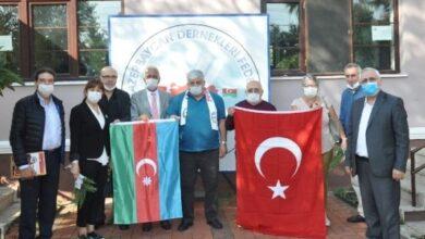 VATAN PARTİSİ'NDEN, AZERBAYCAN FEDERASYONU'NA ZİYARET