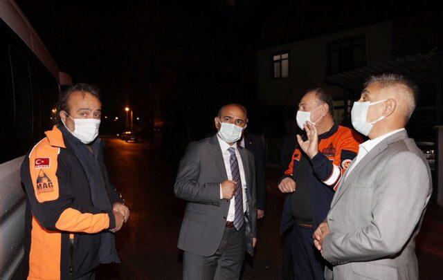 Körfez'den İzmir'e yardım eli