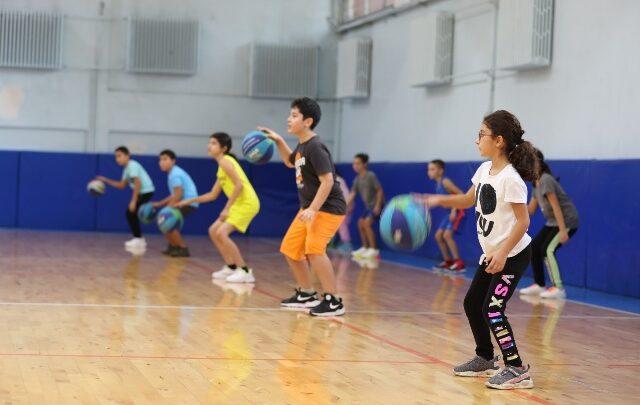 Basketbol okullarına yoğun ilgi