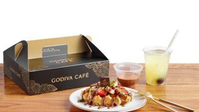 Godiva Café'nin harika lezzetleri artık adresinize geliyor