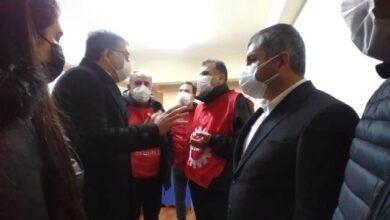 CHP Kocaeli, Gebze'de gözaltına alınan emekçilerle görüştü