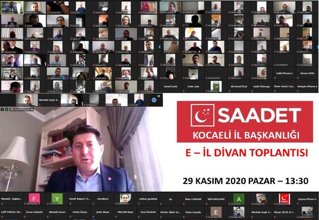SP'den dijital toplantı