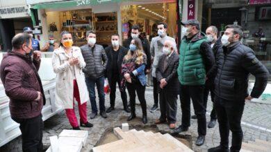 Fethiye Caddesi yenileme çalışmalarında ilk adım