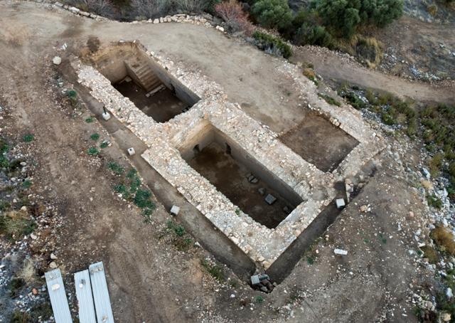 Kazılarda dört sarnıç bulundu