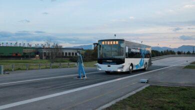 Türkiye'nin sürücüsüz otobüsü, testleri başarıyla geçti