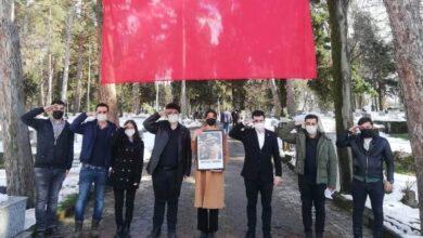 Öncü Gençlik, Gaffar Okkan'ı mezarı başında andı