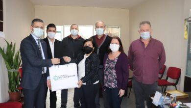 Büyükşehir'den muhtarlara sağlık sepeti