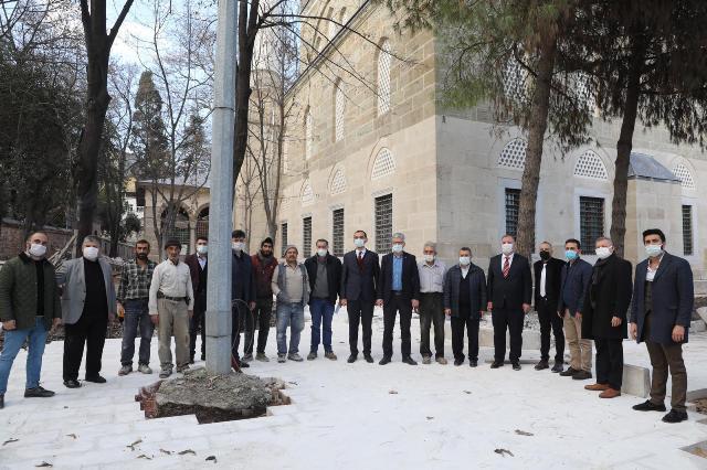 Ellibeş,Yenicuma Camii'nde