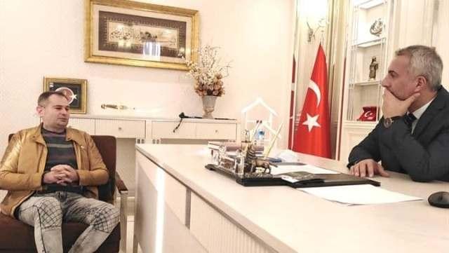 Yener'den Başkan Babaoğlu'na ziyaret