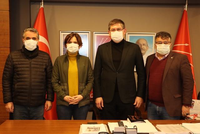 Kaftancıoğlu CHP Kocaeli'de