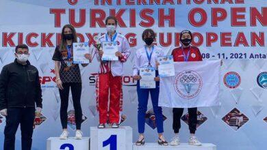 Antalya'dan Körfez'e altın madalya
