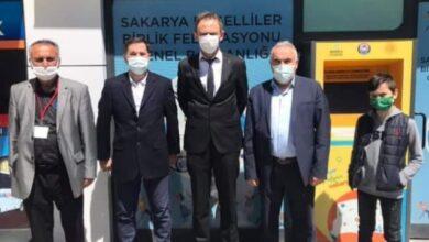 Ahmet Türkoğlu, misafirlerini ağırladı