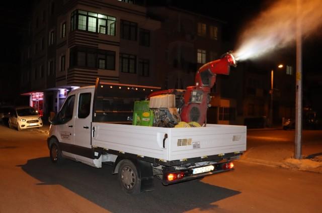 İzmit'te sivrisinekle mücadele başladı