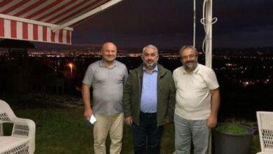 Halil Etyemez, Kalyoncu'nun misafiri oldu