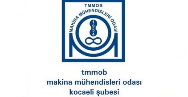 TMMOB Kocaeli'den hatırlatma