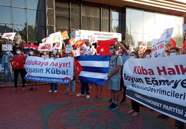 TKP'den Küba dayanışması