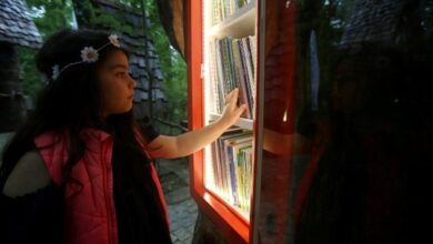 Ormanya'nın kütüphanesi var