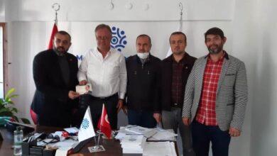 Yeniden Refah'tan Memleket Partisi'ne ziyaret